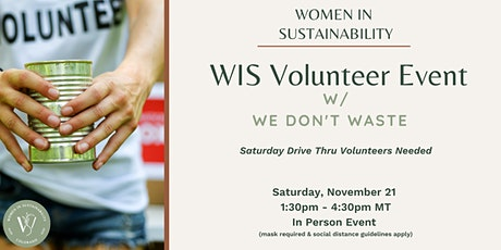 Women in Sustainability - We Don't Waste Volunteer Event tickets