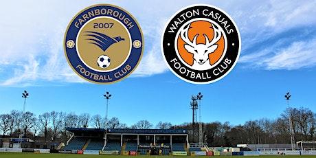 Farnborough vs Walton Casuals tickets