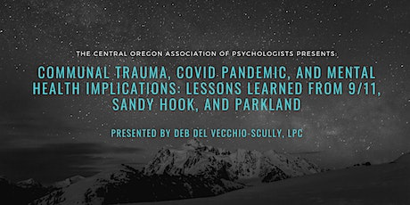 Communal Trauma, Covid & Mental Health Implications: Lessons Learned tickets