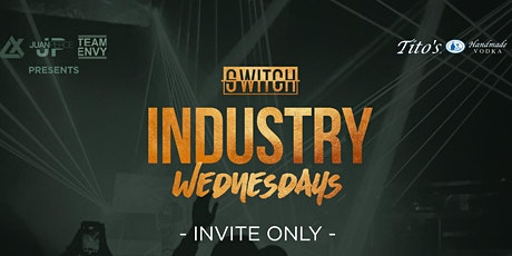 Industry Wednesdays at Switch 9pm-2am tickets