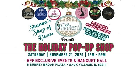 Shanna's Shop of Divas Presents the Holiday Pop-Up Shop tickets