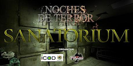 NOCHES DE TERROR DOMINGO 6 DE DICIEMBRE entradas