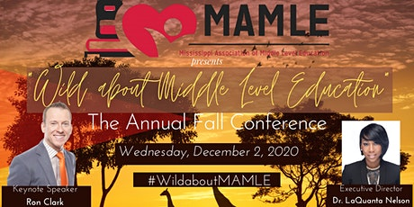 Wild about Middle Level Education-MAMLE Annual Fall Conference tickets