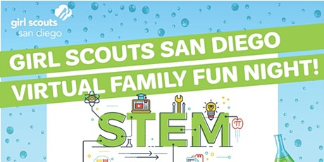 Girl Scouts Virtual Family Fun Night—STEM cloud workshop tickets