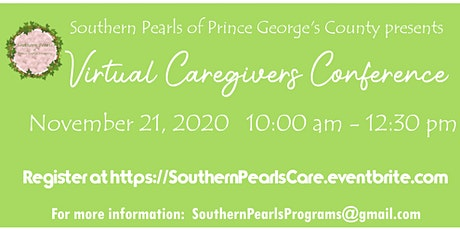 Virtual Caregivers Conference tickets