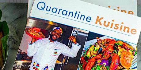 Quarantine Kuisine-Book launch and Signing tickets