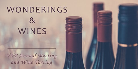 Wonderings and Wines with VVP tickets