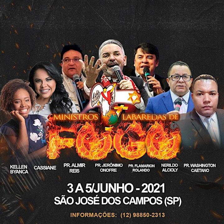 Imagem do evento MINISTRO LABAREDAS DE FOGO -SÃO JOSÉ DOS CAMPOS