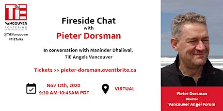 Fireside Chat with Pieter Dorsman tickets