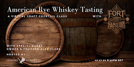 American Rye Whiskey with Fort Hamilton Distillery tickets