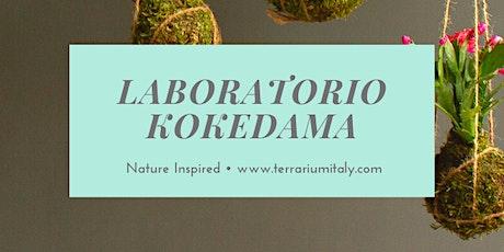 Laboratorio Kokedama ai Giardini del Benessere biglietti