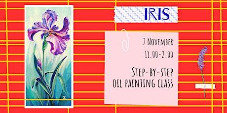 IRIS- social oil painting workshop tickets