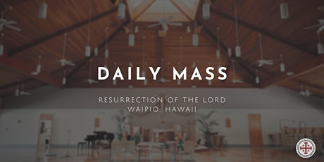 Daily Mass (Friday) tickets