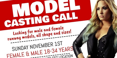 Entrepreneurs Ball : Fashion Experience : Casting Call tickets
