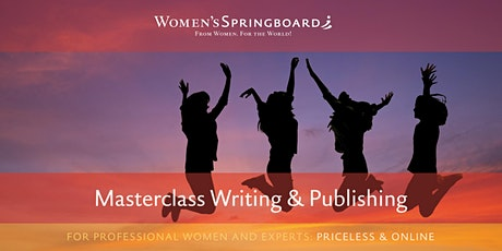 Masterclass Writing & Publishing tickets