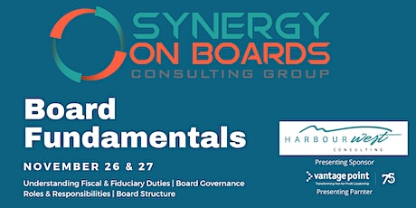 Fundamentals of Board Governance tickets