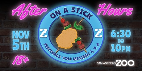 On A Stick! Festivals You Missed (AFTER HOURS: Ages 18+) tickets