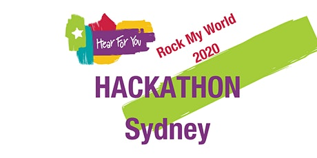 2020 Hear For You Hackathon - SYDNEY tickets
