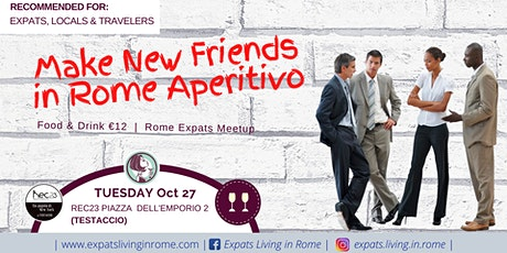 Make New Friends in Rome Aperitivo tickets