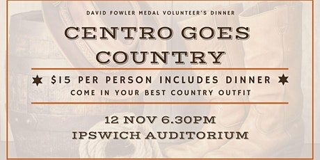 Centro goes Country | DFM volunteers dinner night tickets
