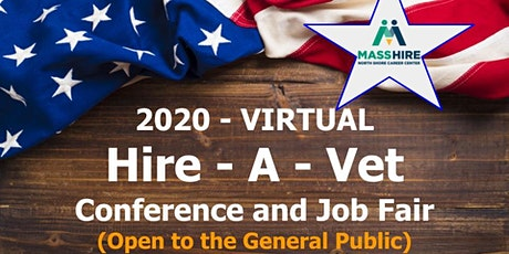 2020-VIRTUAL Hire a VET Conference & Job Fair (Open to the General Public) tickets