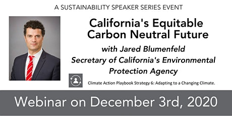 California's Equitable Carbon Neutral Future tickets