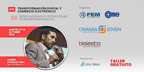 Transformación Digital y Comercio Electrónico boletos