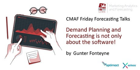 CMAF FFT: Demand Planning and Forecasting is not only about the software! tickets
