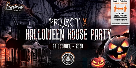 The Project X Hip Hop Halloween Party @ SiNK PONG! This event will sell out tickets