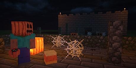 Minecraft Halloween Virtual TNT (Trick AND Treat) tickets