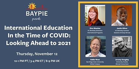 International education in the time of COVID: Looking ahead to 2021 tickets