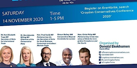 Croydon Conservatives Conference 2020 tickets