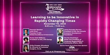 Learning To Be Innovative In Rapidly Changing Times tickets
