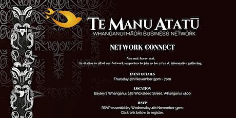 Te Manu Atatū - Network Connect tickets