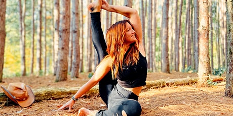 Free 60-Minute Virtual Online Yoga with Jenn Dodgson -- ZA-NL tickets