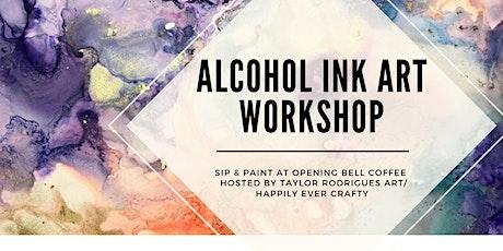 Alcohol Ink Art Workshop tickets