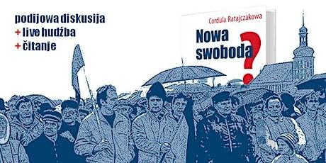 "Knižna premjera: ""Nowa swoboda?"" // Launch Event Tickets"