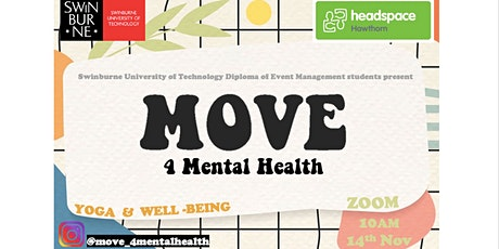 MOVE 4 Mental Health tickets