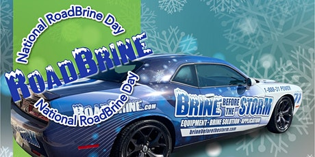 National Road Brine Day:  Free Demos & PRIZES tickets