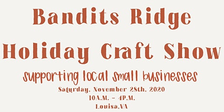 Bandits Ridge Holiday Craft Show tickets