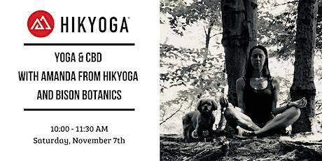 Yoga + CBD with Hikyoga and Bison Botanics tickets