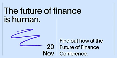 Future of Finance Conference tickets