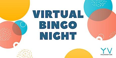 YV Foundation - Virtual Bingo Night! Play for a Cause. tickets