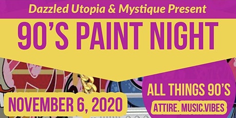 90's Paint Night tickets