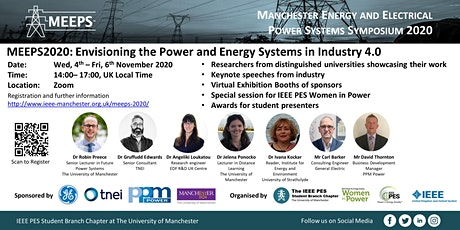 Manchester Energy and Electrical Power System Symposium (MEEPS 2020) tickets