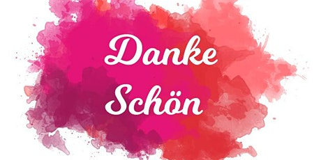 Danke schön event for volunteers tickets