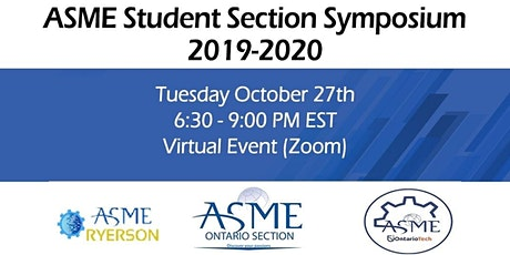 ASME Student Section Symposium 2020 tickets