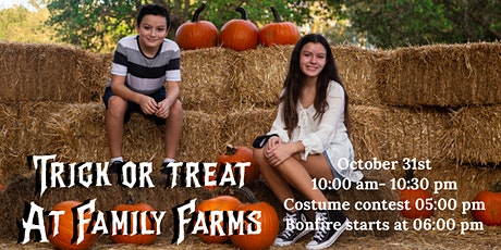 Trick or Treat on The Farm tickets