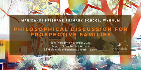 Philosophical Discussion for prospective families tickets