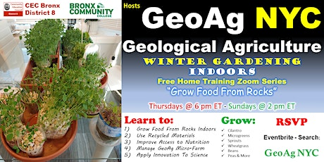 GeoAg NYC tickets